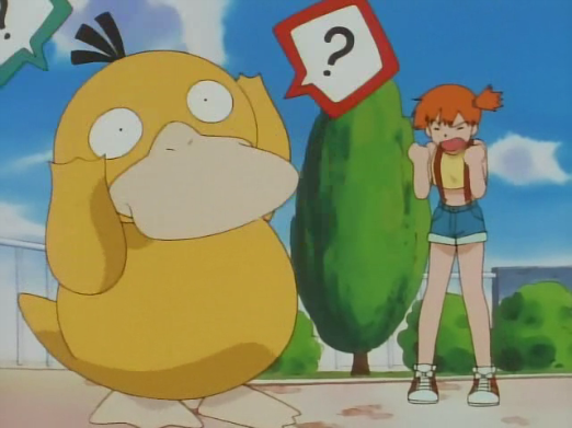 Goddammit Psyduck, learn your lines.